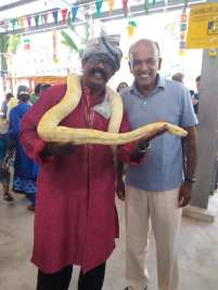 Snake Charmer in Singapore