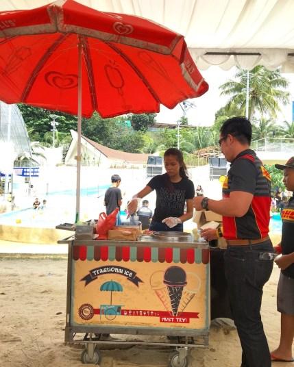 Traditional Ice Cream Station