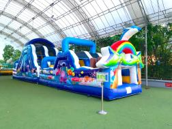 Under the Sea Obstacle Course Rental Singapore