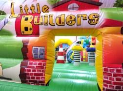 Little Builder Bouncy Castle