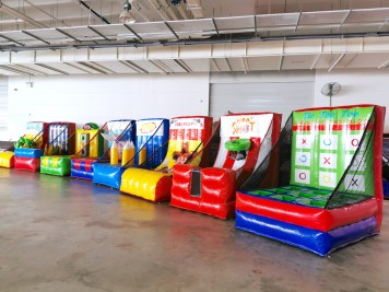 Inflatable Carnival Game Stalls Rental