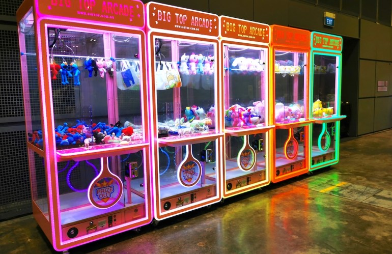 Cheap Claw Machines Rental in Singapore
