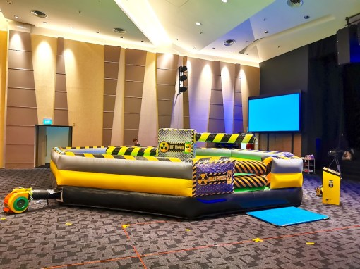 Wipe Out Inflatable Game Rental