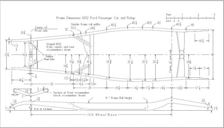 32 Ford Frame Length | Framejdi.org