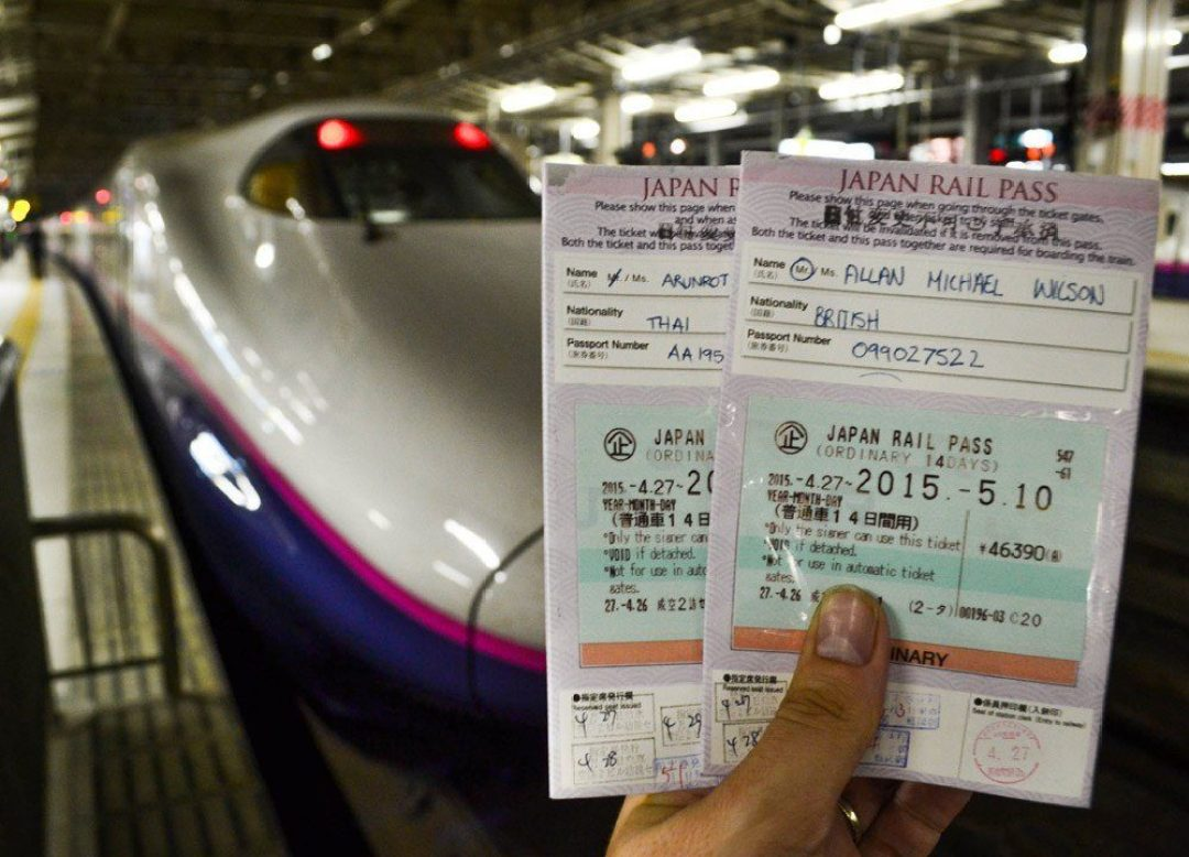 Traveling In Japan - JR Rail Passes