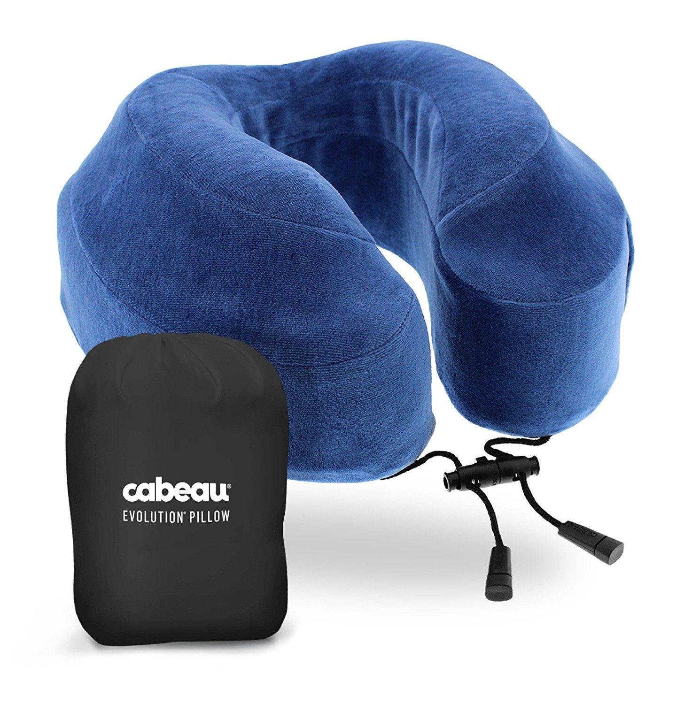 Surviving Your Flight To Japan - Cabeau Memory Foam Travel Pillow