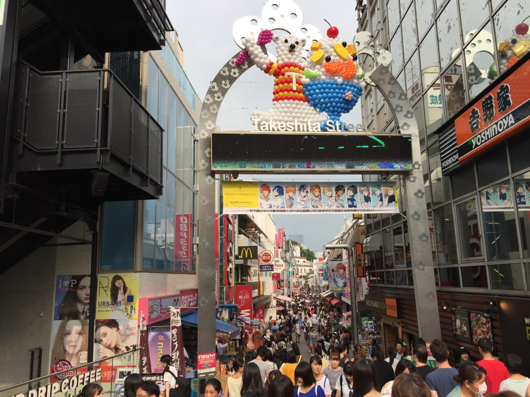 What Should You Wear While Traveling In Japan - Harajuku Takeshita-dori