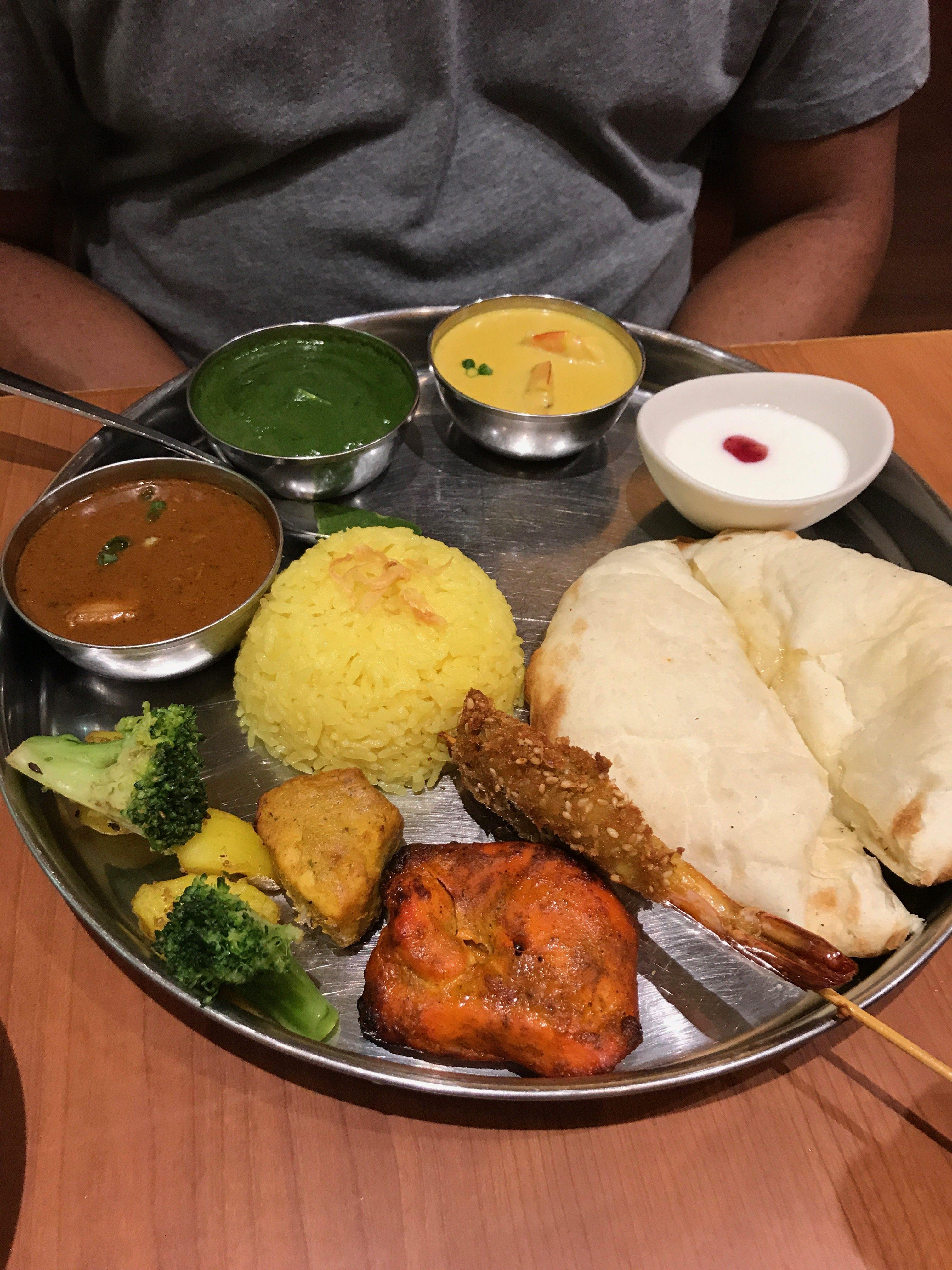 Eating Food In Japan - Trying Different Food In Japan - Tokyo Skytree Indian Restaurant