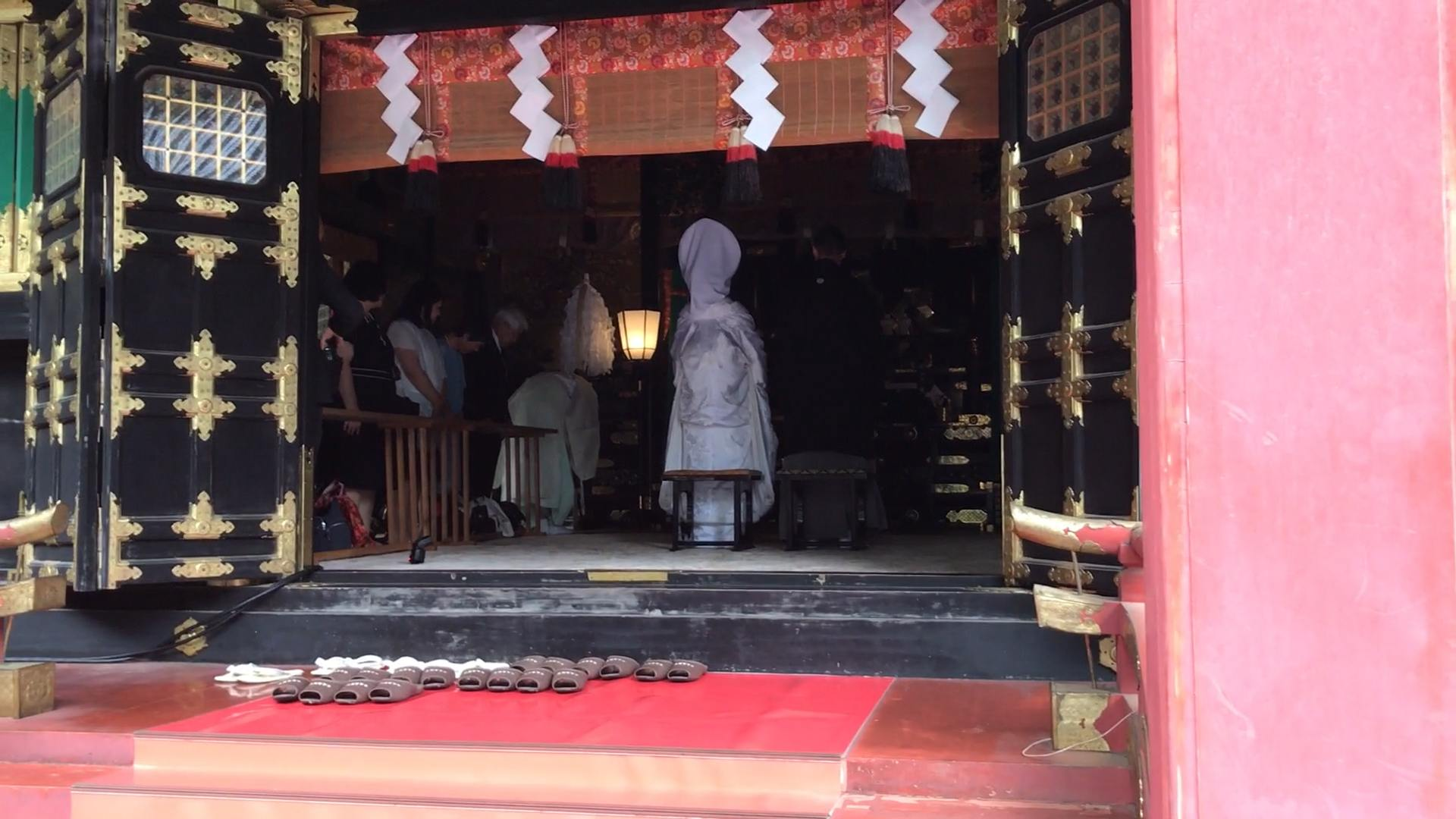 Traditional Shinto Wedding - Nikko Toshogu Shrine Japan Review Blog Guide List View Video 2017 ⛩ 🏯 🌸