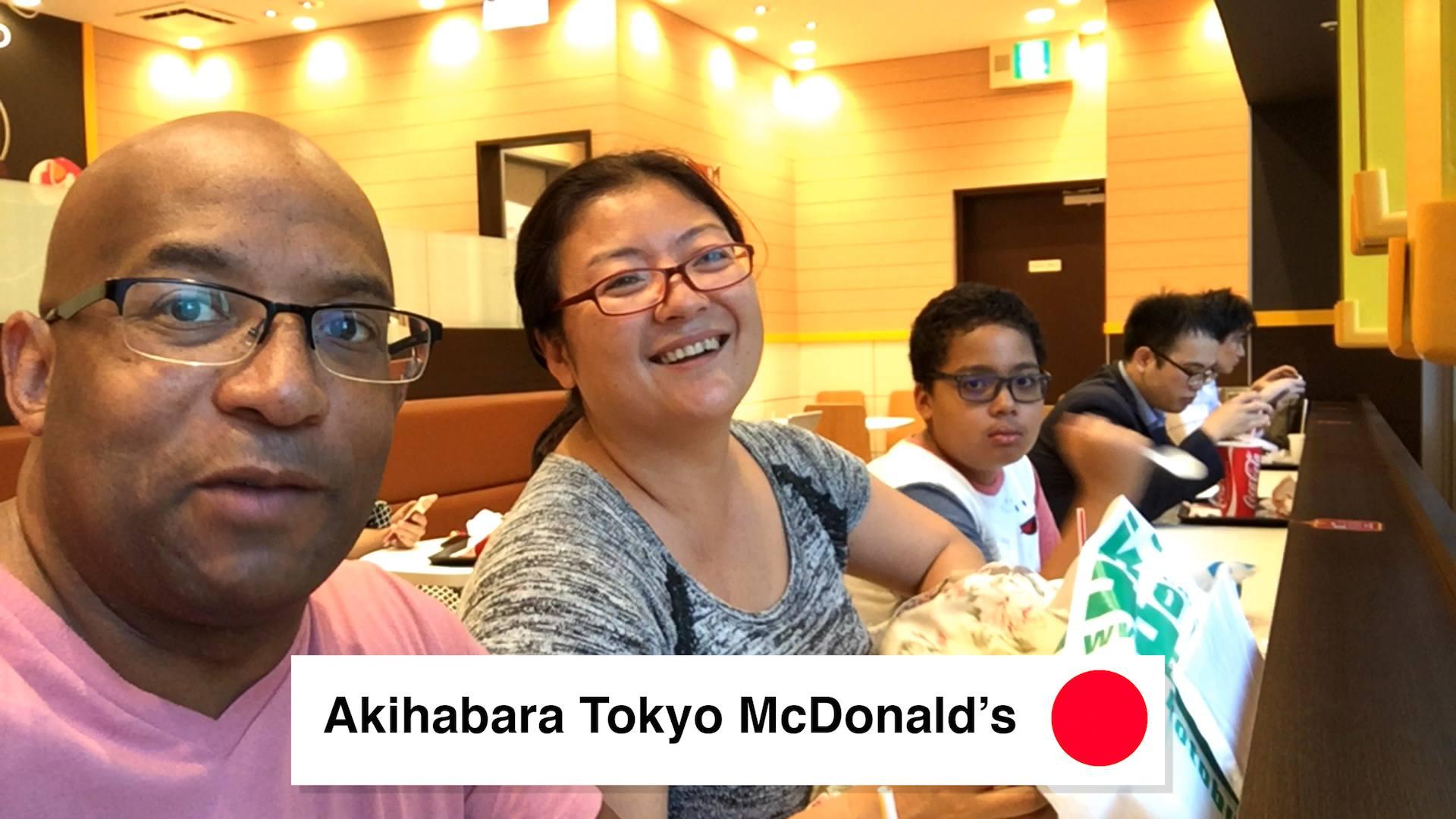 Akihabara Tokyo McDonalds - Walking Around Akihabara Tokyo What To Do 2018 - Loot Anime Discount Code 2018 🇯🇵 🏙 📦