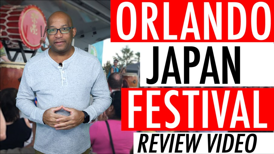 Orlando Japan Festival Review YouTube Video 2017. Lots of Fun Every Year