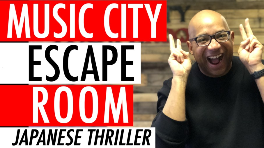Music City Escape Room Game Review Nashville TN – 5 Reasons To Play The Japanese Thriller 🇯🇵 ⛩ 👘