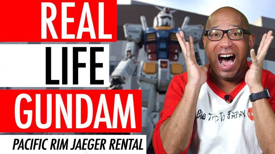 Real Life Gundam Suit In Japan, Working Gundam Suit - Pacific Rim Robots Jaeger Pilot Suit Rental 🤖