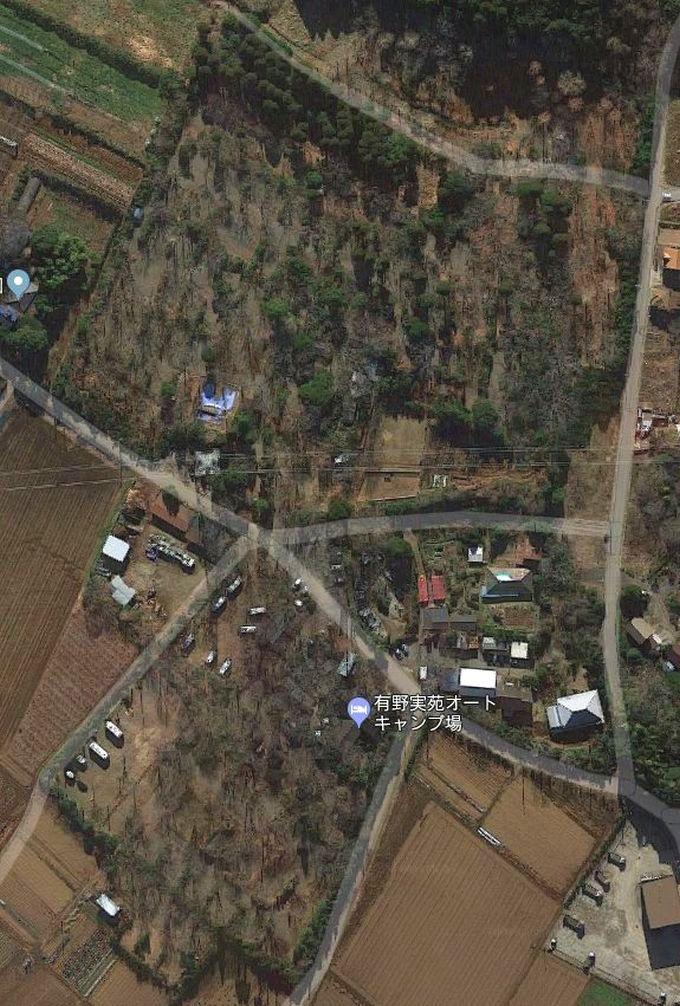 有野実苑オートキャンプ場 Googleマップ