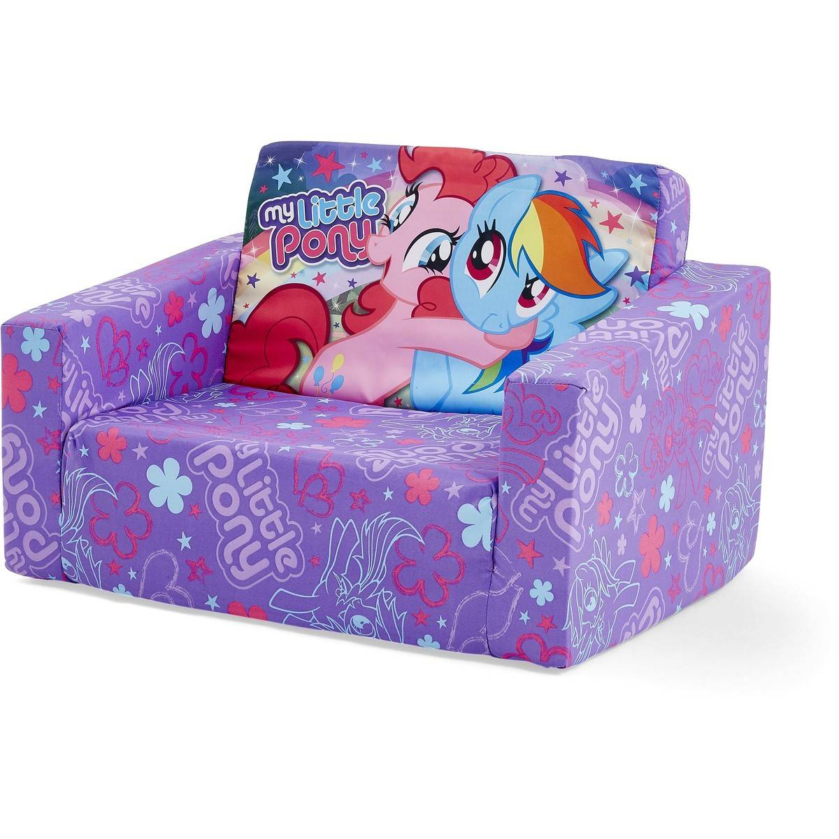 Toddler Sofa Chair My Little Pony Kids Flip Out Sofa Big W