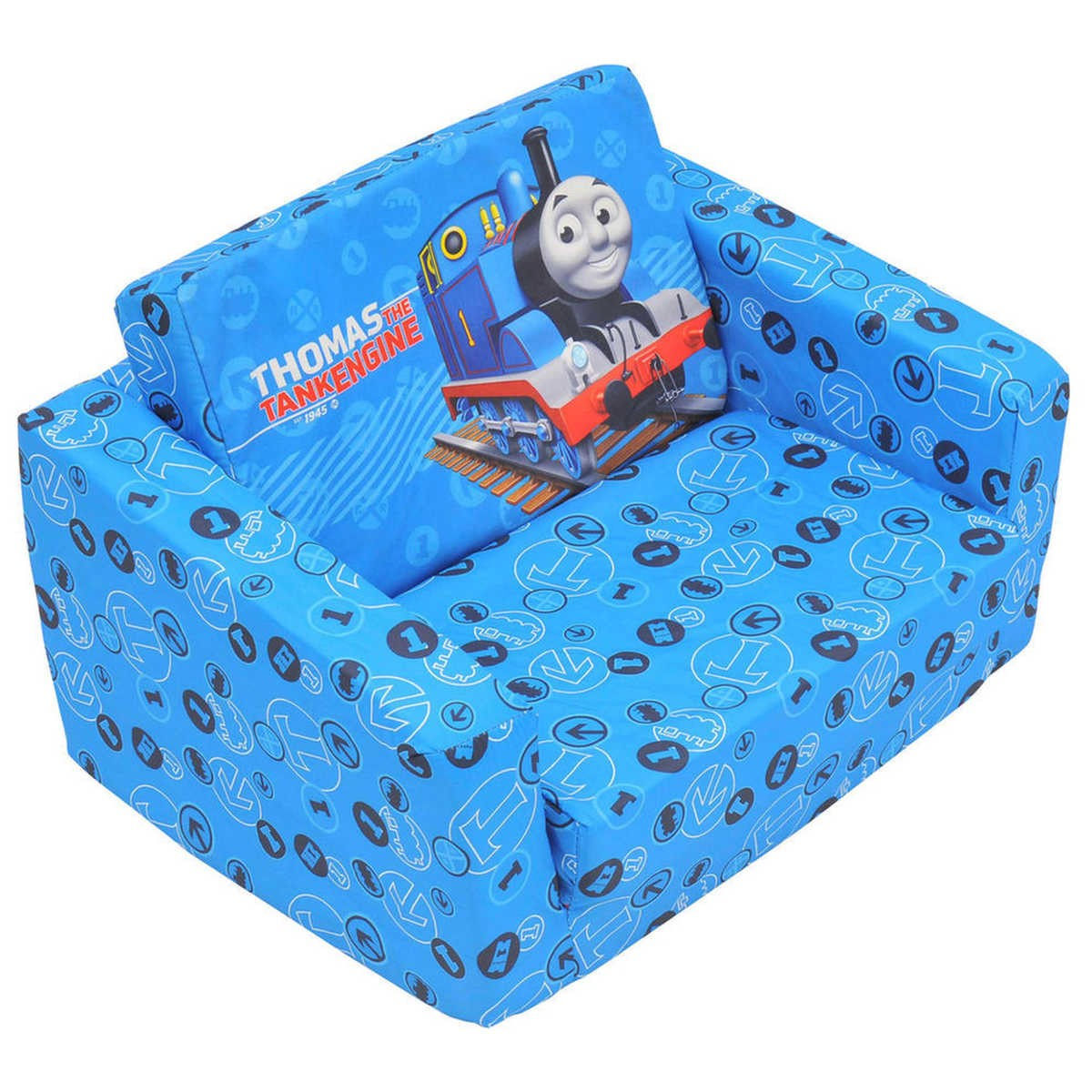 Toddler Couch Chair Thomas Friends Kids Flip Out Sofa