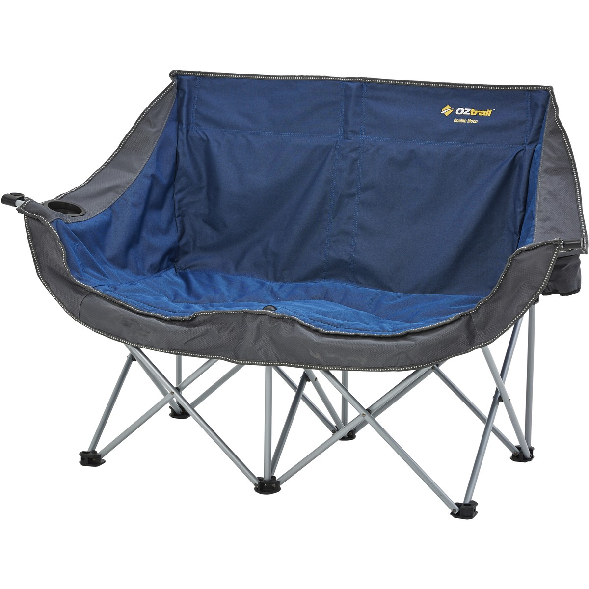 Double Camping Chair Oztrail Double Moon Chair Assorted