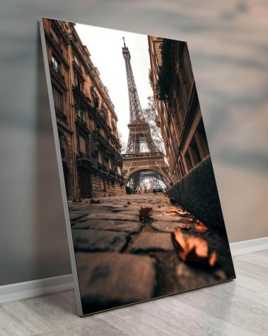Big Home Deco Art Oversized Biggest Massive Huge Large Largest Giant Wall Décor Art Backlit Fabric Home Deco Artwork Artist landscape nature Scenic Photographer Ryan Ditch eiffel tower streets