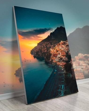 Giant Wall Art Decor Gigantic Big Biggest Massive Huge Large Largest Giant Wall Décor Art Backlit Fabric Home Deco Artwork Artist landscape nature Scenic Photographer Zach Doehler coastal dreams