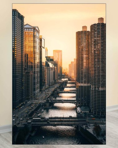 Huge Wall Art Decor Gigantic Big Biggest Massive Huge Large Largest Giant Wall Décor Art Backlit Fabric Home Deco Artwork Artist landscape street city nature Scenic Photographer Ryan Ditch
