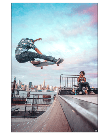 Oversized Home Decor New York Art Decor Gigantic Big Biggest Massive Huge Large Largest Giant Wall Backlit Fabric Home Deco Artwork Artist New York City Street Icon Portrait Scenic Photographer Nick Ford Nick40V Pop Skyline Skateboard Clouds Sunset Cityscape Portraits
