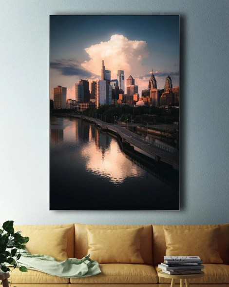 BigCityscape Wall Art Huge Decor Prints