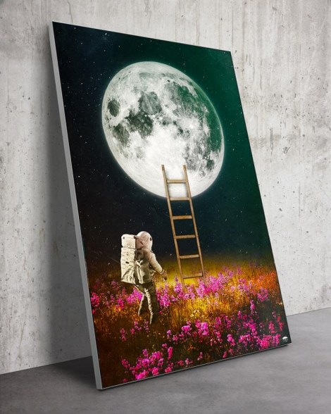 Huge-Surreal-Moon-Flowers-Wall-Art-Seamless