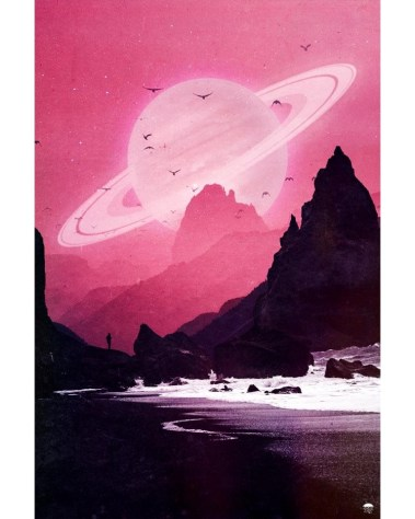 Massive Pink Sky's Wall Art Huge Decor Prints