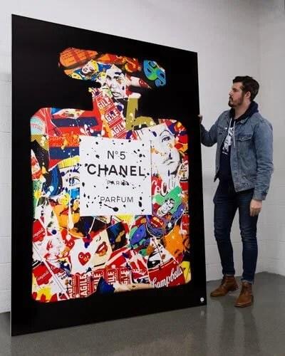 Massive Chanel Pop Art