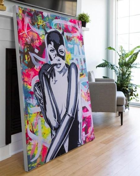 Catwoman Large Artwork