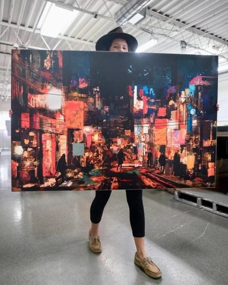 Abstract Art Oversized Daniel Ignacio