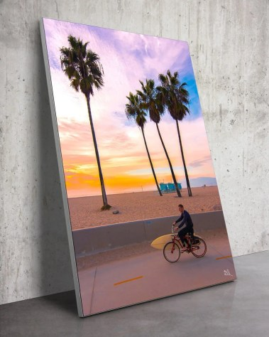 Oversized California Surfer Palm Trees Wall Art