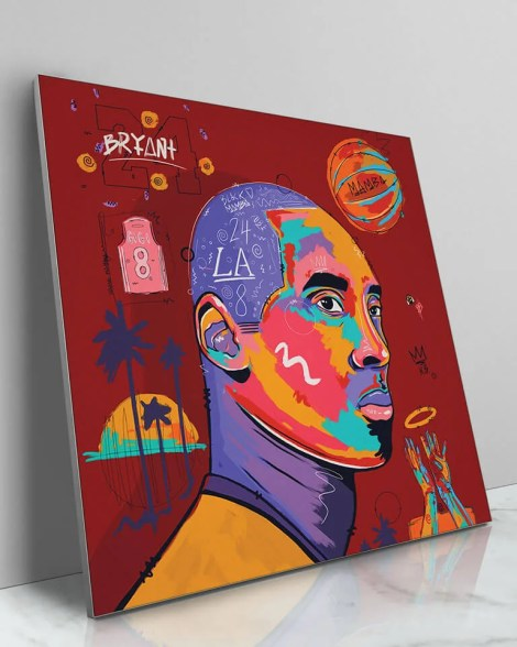 Large-Pop-Art-Kobe-Bryant-Wall-Art-NuWarhol