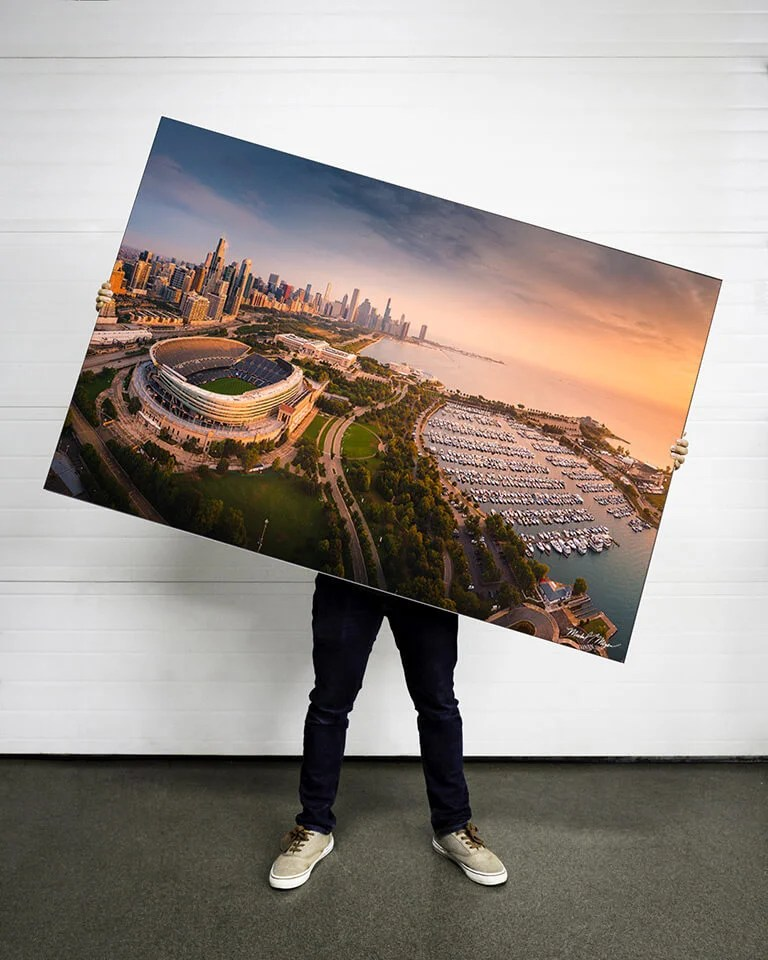 Huge Soldier Field Chicago Bears Wall Art Landscape Photography Mike Meyers