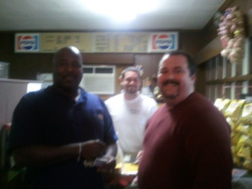 C-Dub and Big Wayner (picture courtesy of C-Dubs BBQ Rub)