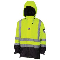 Men's yellow hi viz Jacket
