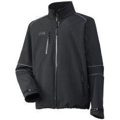 Men's black Barcelona Softshell Jacket