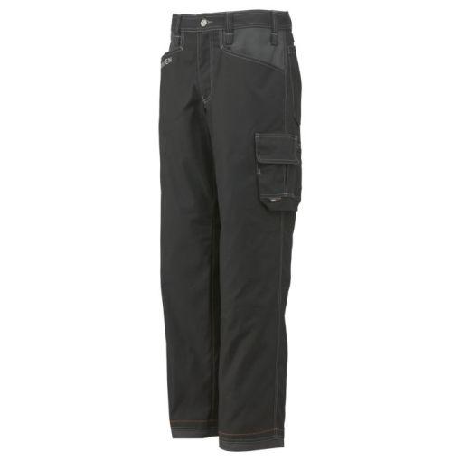 Men's charcoal black Chelsea Service Pant