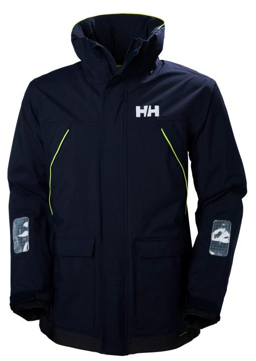 men's navy coastal helly hansen sailing jacket
