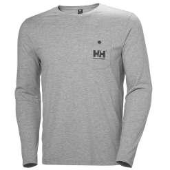Helly Hansen Mens Sportswear Fjord Long Sleeve Tshirt