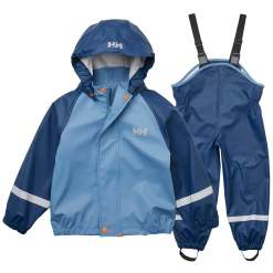 Helly Hansen Kid Rainwear Bergen Pu Rainset