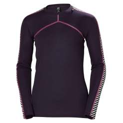Helly Hansen Womens HH Lifa Crew Longsleeve Baselayer