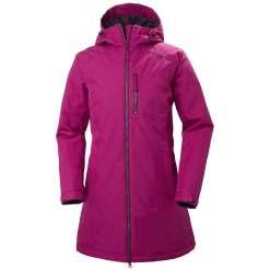 Helly Hansen Womens Urban Rainwear Long Belfast Winter Jacket
