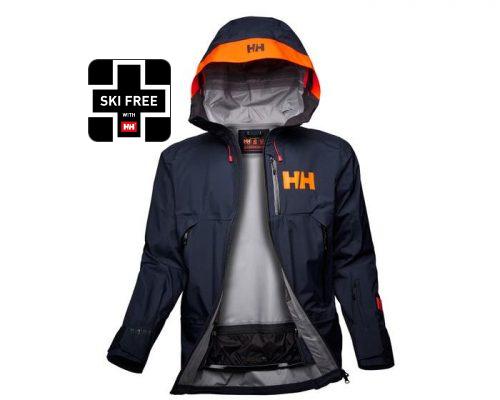 Helly Hansen Men's Sogn Shell Jacket | Big Weather Gear | Helly Hansen Newport