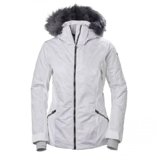 Women's white ski Jacket