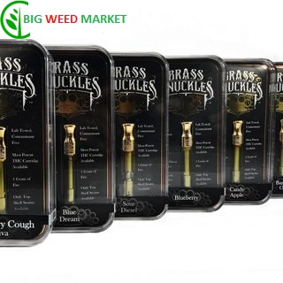 Buy Brass Knuckles High THC Vape Cartridge Europe