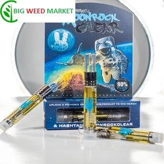 Moonrock Clear Vape Cartridge