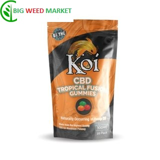 Buy Koi CBD Tropical Gummies Online Europe