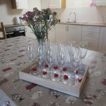 Champagne and Canapes on Arrival Hen Party York