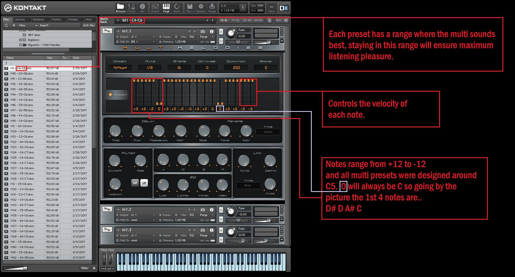 Multi Melodies Kontakt Library 3